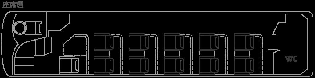 YuGa座席図